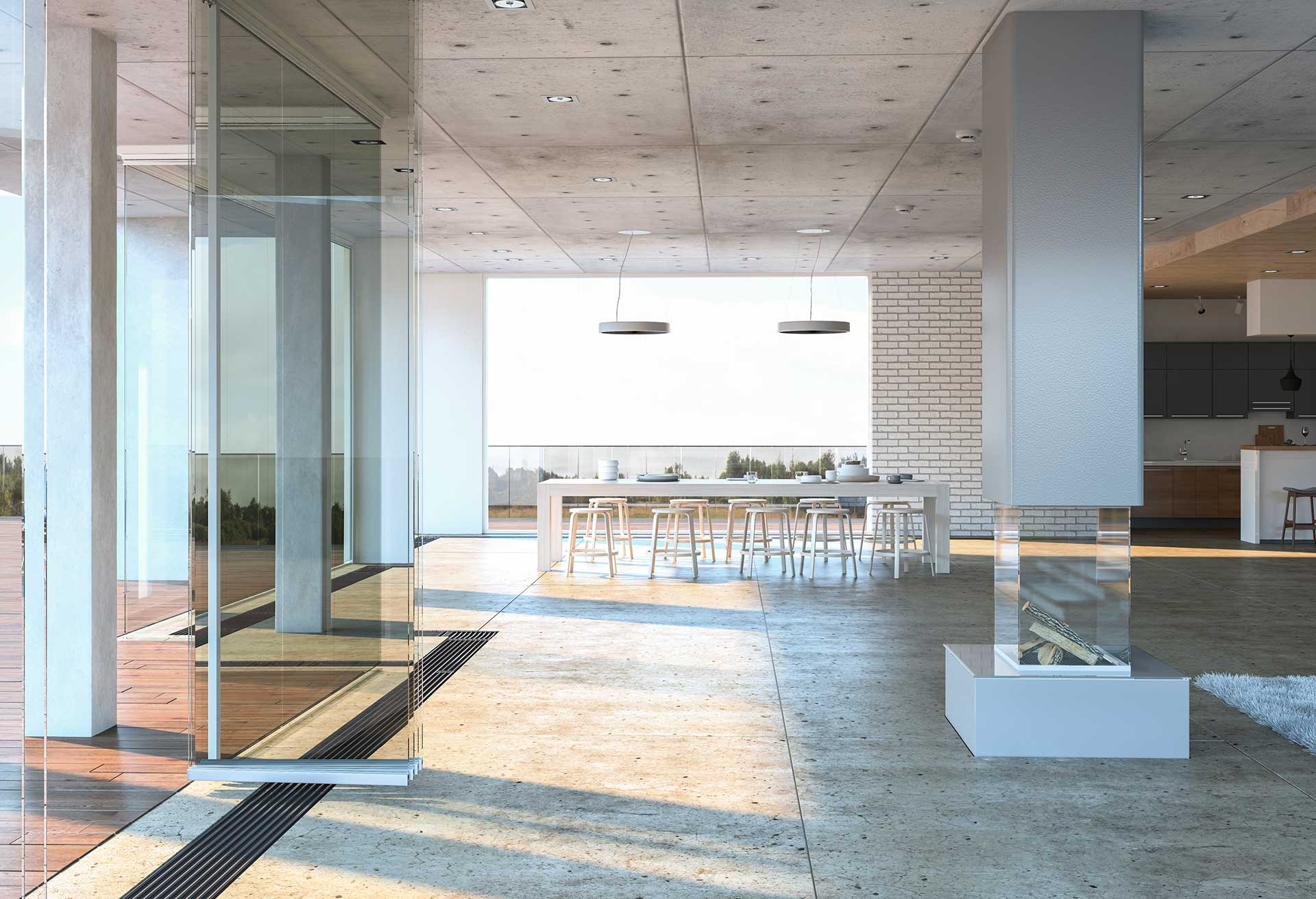 glass-entrance-to-modern-house-PHWJQQ2
